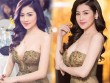 """""""Bạn gái Noo Phước Thịnh"""" gây mê với váy mỏng tang, trễ nải"""
