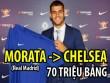 """Chuyển nhượng Ngoại hạng Anh tuần 17-23/7: Man City và Chelsea """"đốt"""" 100 triệu bảng"""