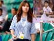 """Nữ phóng viên xinh đẹp Hàn Quốc """"phải lòng"""" Công Phượng"""