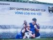 Đội bóng Nhật Cường giành tấm vé vào chung kết Samsung Galaxy Cup 2017