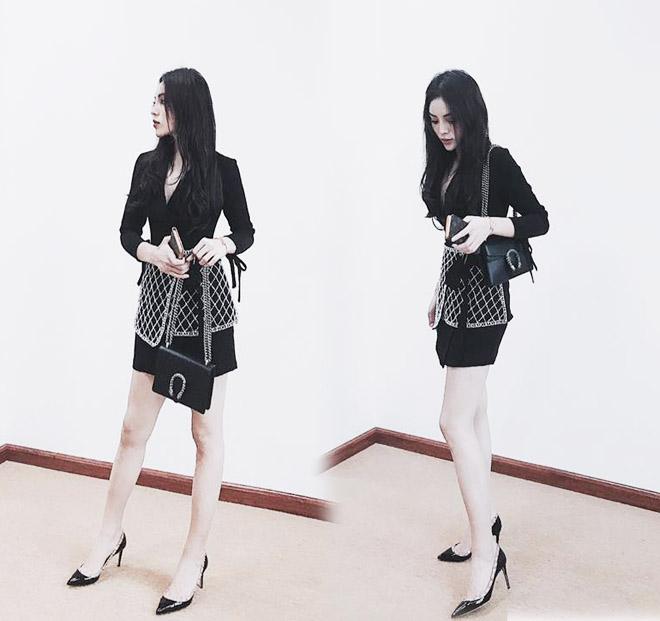 """Angela Phương Trinh """"quên"""" nội y vẫn mặc đẹp thua Kỳ Duyên - 2"""