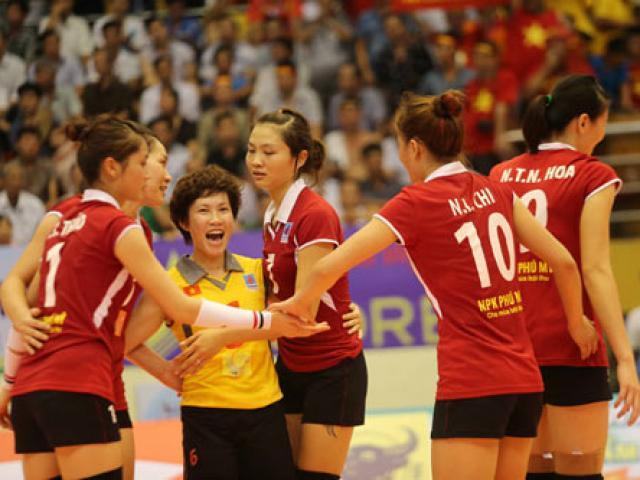 Đấu trường châu lục – tuyển bóng chuyền nữ Việt Nam bùng nổ !