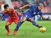 """Bóng đá - Clip U23 Indonesia """"chặt chém"""" Thái Lan trước thềm SEA Games"""