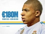 Bóng đá - Real & Monaco chốt giá: Bom tấn Mbappe 180 triệu euro sắp nổ