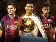 """Ronaldo và Quả bóng vàng thứ 5: Vẫn lo bị 4 """"cao thủ"""" vượt mặt"""