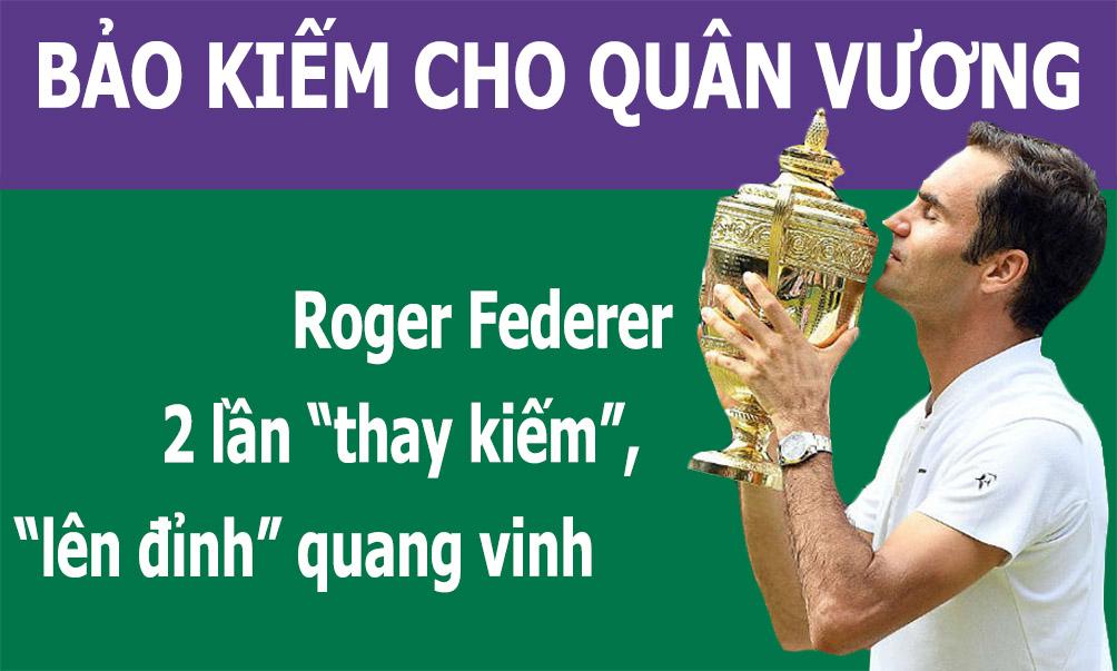 """Federer 2 lần """"thay kiếm"""": Công phá Rogers Cup, chinh phục US Open - 1"""