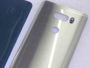 Lộ mặt lưng LG V30 có camera kép, cảm biến dấu vân tay