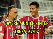 """Bayern Munich - Inter:  """" Hùm xám """"  lại ra oai"""