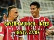 """Bayern Munich - Inter: """"Hùm xám"""" lại ra oai"""