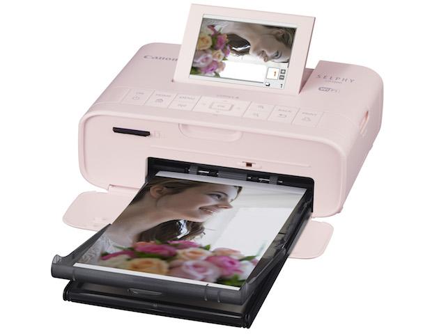 Canon ra mắt máy in ảnh di động kèm công cụ ghép hình vui nhộn