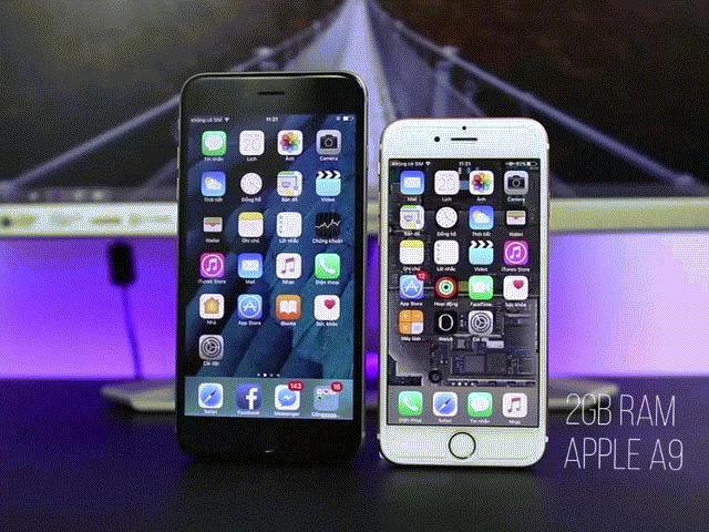 Mua iPhone 6s hay iPhone 6 Plus khi mức giá tương đương?