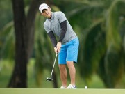 """Chủ tịch Công Vinh """"thua méo mỏ"""" khi đánh golf"""