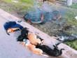 Người dân đốt xe, đánh tơi bời 2 đối tượng nghi trộm chó