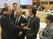 Tài chính - Bất động sản - Lần đầu tiên, Thủ tướng Nguyễn Xuân Phúc làm việc với Tổ Tư vấn kinh tế