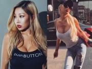 Ca nhạc - MTV - Rapper dao kéo hỏng xứ Hàn nghiện khoe vòng 1 nâng cấp