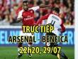 """TRỰC TIẾP bóng đá Arsenal - Benfica: """"Bom tấn"""" Lacazette chào Emirates"""