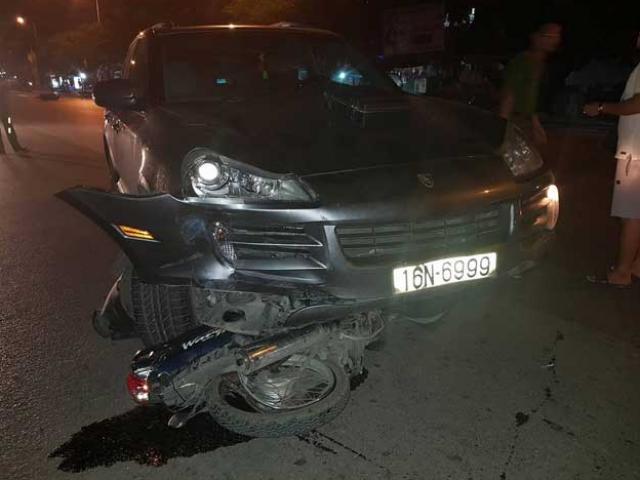 Triệu tập tài xế siêu xe Porsche gây tai nạn liên hoàn