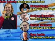 """Bơi thế giới: Ẵm 14 HCV  """" Ma tốc độ """"  trên tài M.Phelps, ăn đứt Ánh Viên"""