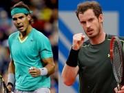 """Thể thao - BXH tennis 31/7: Nadal """"uy hiếp"""" Murray, Wawrinka hạ bệ Djokovic"""