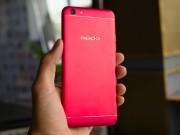 Cận cảnh Oppo F3 màu đỏ phiên bản đặc biệt cực đẹp