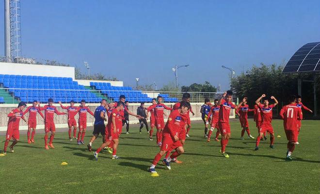 U23 Việt Nam rèn tốc độ, chờ đọ sức với sao Hàn Quốc - 4