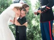 Bạn trẻ - Cuộc sống - Trong hôn lễ, cô dâu làm điều bất ngờ khiến con ghẻ bật khóc