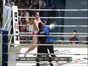 """Thể thao - MMA: """"Quái nữ khổng lồ"""" gặp họa, 16 giây đã xong trận"""