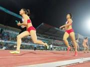 """Thể thao - SEA Games 2017: """"Tứ cô nương"""" Việt trên đường chạy 400m"""