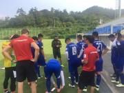 Bóng đá - HLV Hữu Thắng cấm mì tôm, U23 Việt Nam tập tránh lộ bài