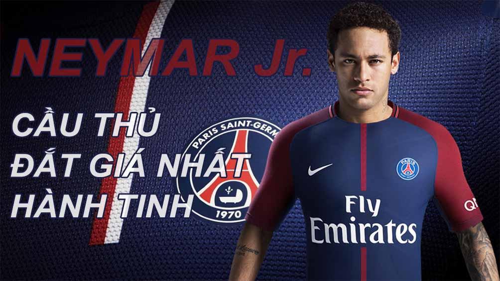 Neymar về PSG 6000 tỷ VNĐ: Siêu sao đắt giá nhất mọi thời đại (Infographic) - 1
