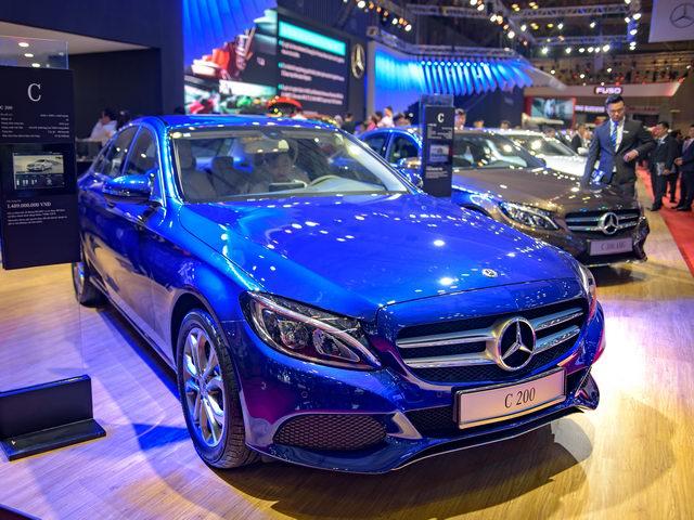 Mercedes C-Class tại Việt Nam được cải tiến với hộp số 9 cấp - 1