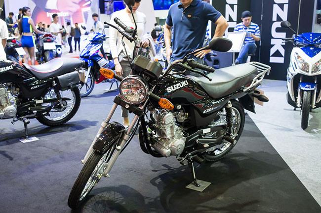 Từng nhớ tại triển lãm mô tô, xe máy Việt Nam 2016 diễn ra hồi tháng 4 năm ngoái, trong gian hàng của Suzuki từng thu hút sự quan tâm lớn từ giới truyền thông với cái tên Suzuki GD110.