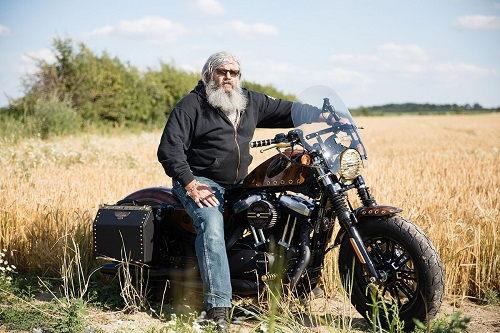 Harley-Davidson Forty-Eight độ phong cách viễn tưởng - 2