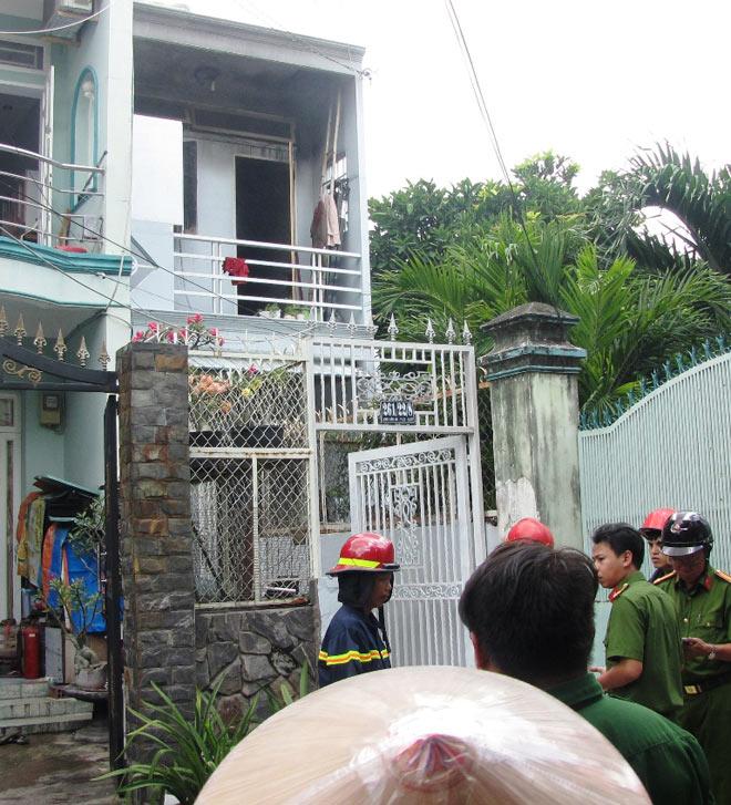 Cô gái trẻ nhảy lầu, thoát khỏi đám cháy ở Sài Gòn - 1