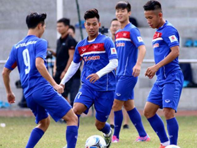 U23 Việt Nam: Xuân Trường, Tuấn Anh rèn