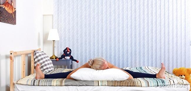 Những bài tập giúp bạn chìm vào giấc ngủ ngay lập tức - 3