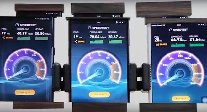 """Cộng đồng mạng """"bóc phốt"""" video đo tốc độ 4G trên Bphone 2 bằng... Wi-Fi - 1"""