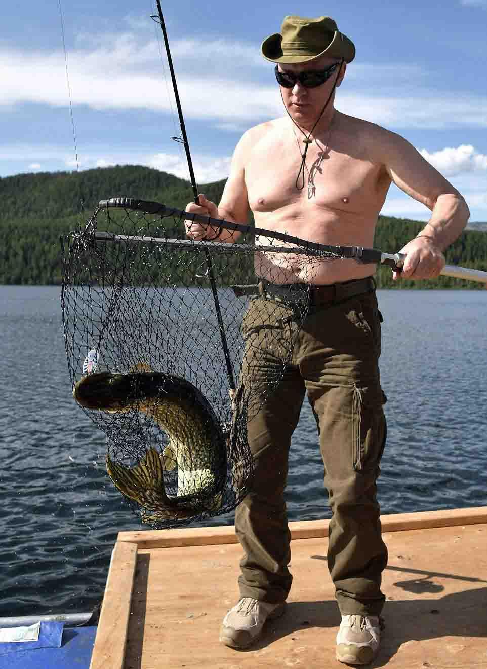 Putin cởi trần, tận hưởng kỳ nghỉ hè tràn đầy ánh nắng - 5