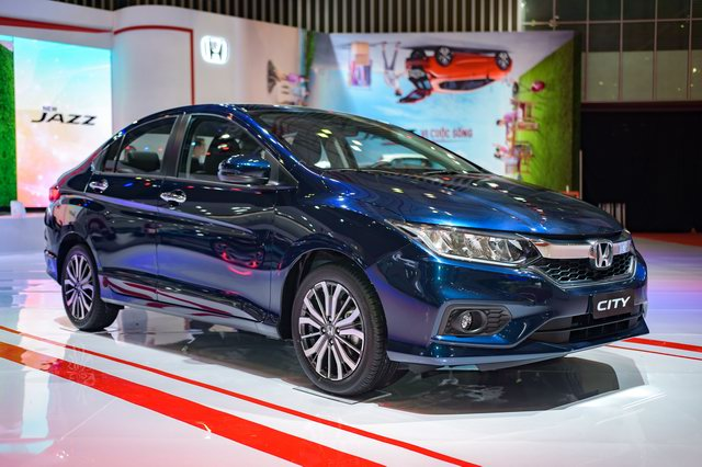 Dòng xe Honda City bản 2017 đắt khách ở Malaysia