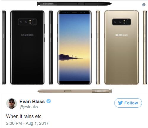 Concept Galaxy Note 8 đẹp ở mọi góc cạnh - 2