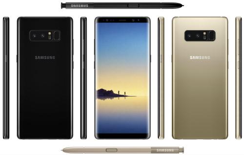 Concept Galaxy Note 8 đẹp ở mọi góc cạnh - 1