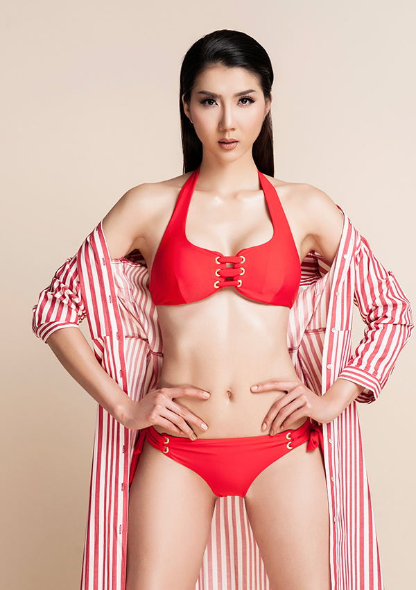 """""""Mòn mắt"""" vì gái 1 con Ngọc Quyên mặc bikini, mẹ bỉm sữa """"phát hờn"""" - 6"""