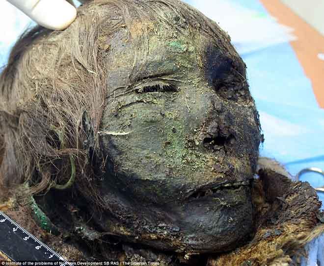 Xác ướp công chúa gần 1.000 năm còn nguyên khuôn mặt ở Bắc Cực - 1