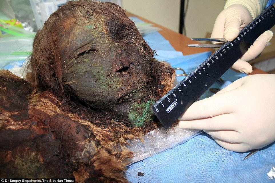 Xác ướp công chúa gần 1.000 năm còn nguyên khuôn mặt ở Bắc Cực - 2