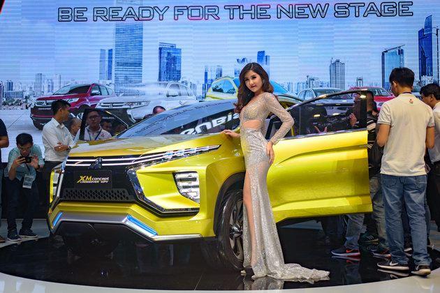 Mitsubishi XM Concept: Sự lãng mạn hiếm có tại VMS 2017 - 2