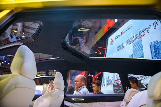 Mitsubishi XM Concept: Sự lãng mạn hiếm có tại VMS 2017 - 9