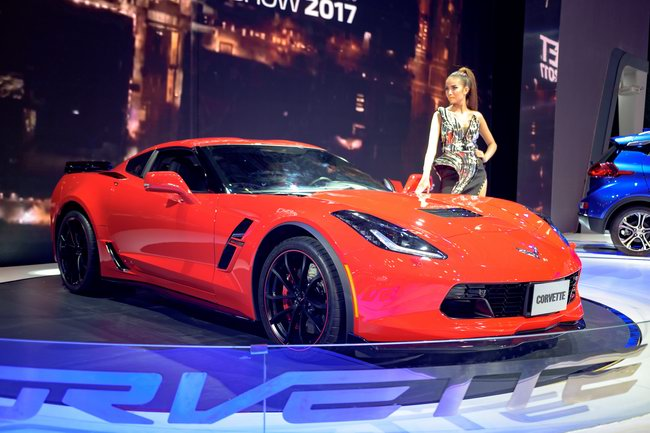Xe thể thao Chevrolet Corvette Grand Sport đến Việt Nam - 4