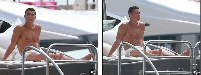 """Ronaldo """"u sầu"""" vì nghi án trốn thuế, mặc bạn gái diện bikini bốc lửa - 10"""