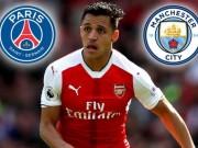 Bóng đá - Sau Neymar, PSG tranh Sanchez với Man City: Nhà giàu đọ tiền