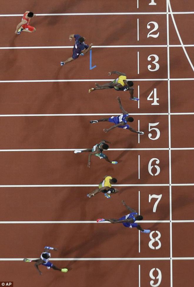 """Chấn động thế giới: Usain Bolt thua sốc, mất ngôi """"vua chạy 100m"""" - 6"""
